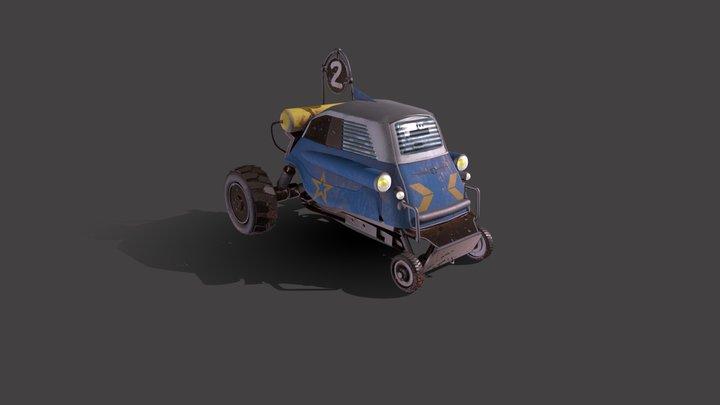 Buggy Сustom Сar 3D Model