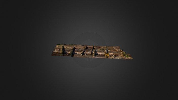 Monument 29 - Fleury sur orne - INRAP 3D Model