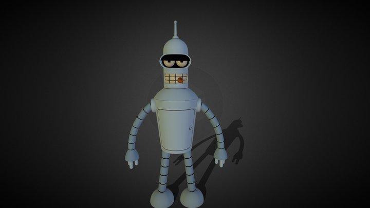Bender Bending Rodriguez 3D Model