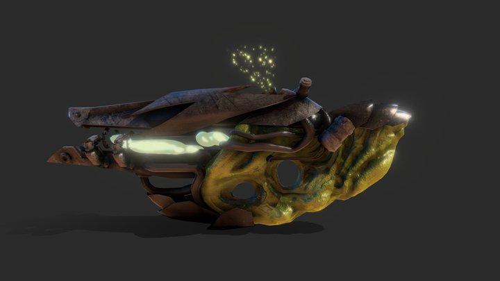 Alien-Bio-Plamsa-Rifle 3D Model