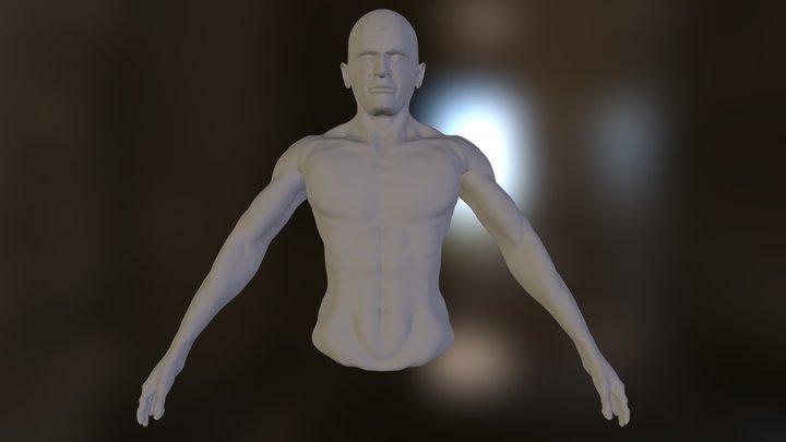 buste.obj 3D Model