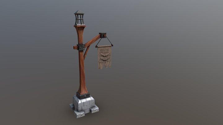 Banner test 3D Model