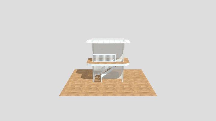 Fjell-Bygg Fjeldstad 3D Model