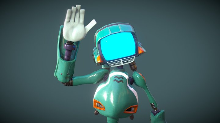 Canti - VR Chat Ready 3D Model