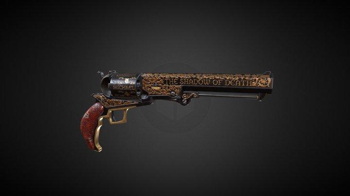 Colt Walker Custom 3D Model