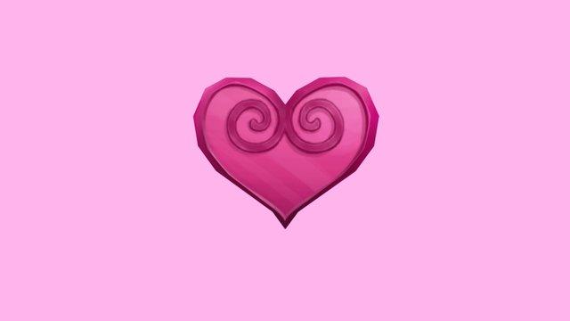 MM Heart 3D Model