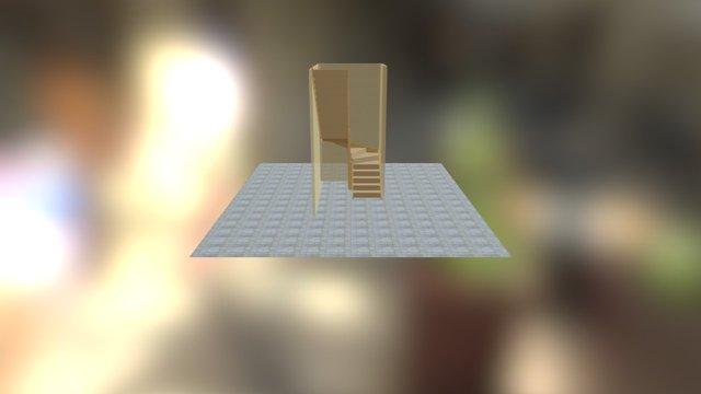 Stair A 03 3D Model