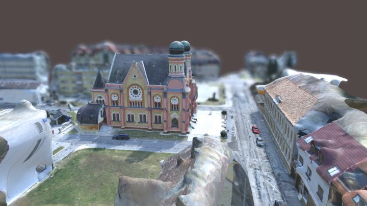 Zalaegerszeg - Zsinagóga 3D Model