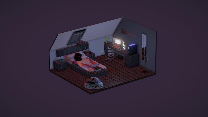 My batcave 3D Model