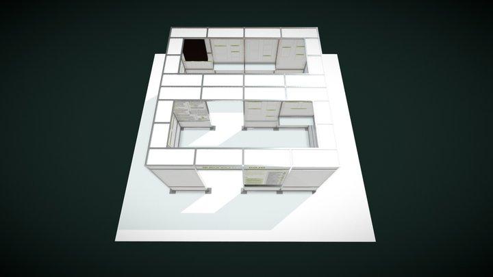 Stand-Dojo-Autoneum 3D Model