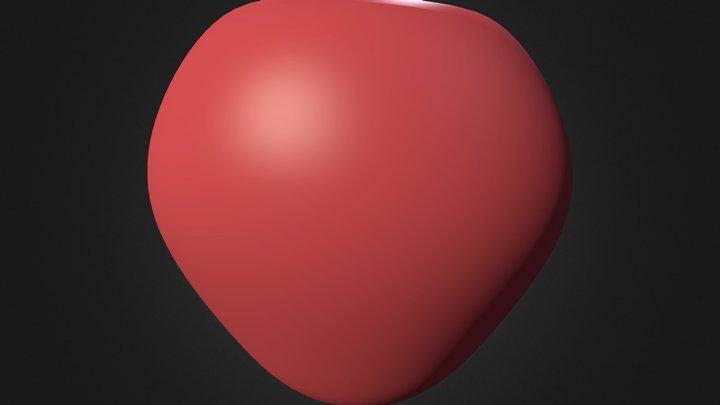 яблоко 3D Model