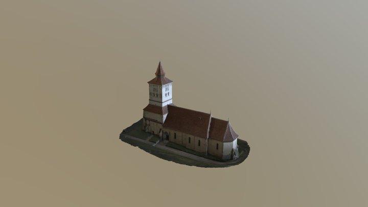 Maierus fortified church 3D Model