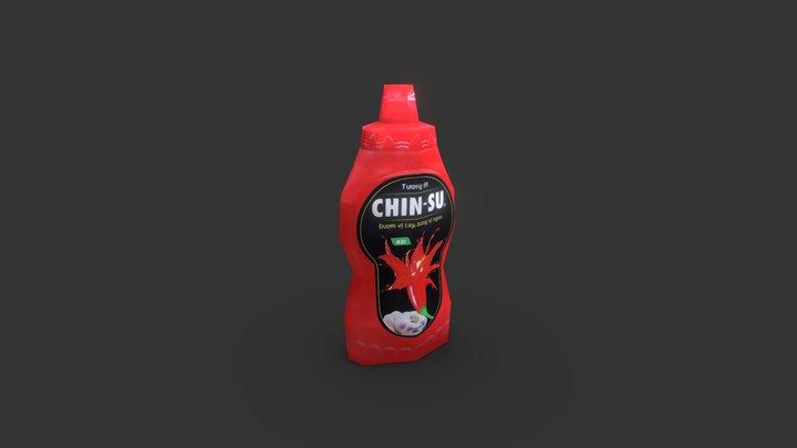 Tương ớt Chinsu 3D Model