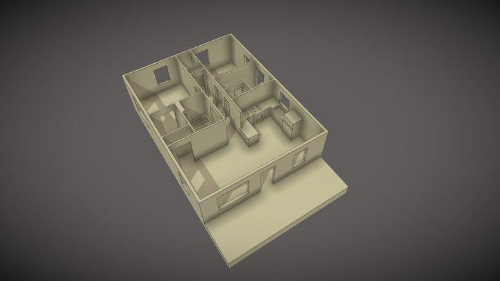 UMC-884-3-Interior 3D Model