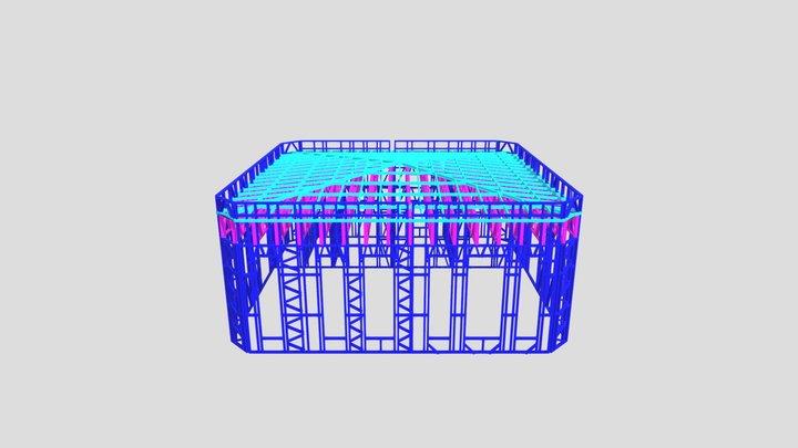 транспортный малый модель 3D Model