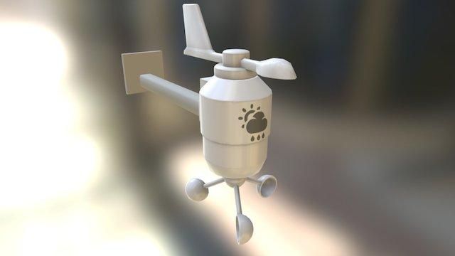 Weather System 3D Model