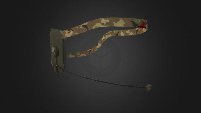 Horzine Tactical Headset 3D Model