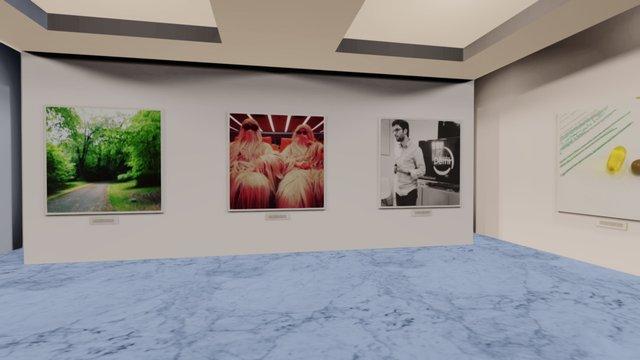 Instamuseum for @mikiane 3D Model