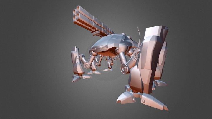 Frog_mech_WIP 3D Model
