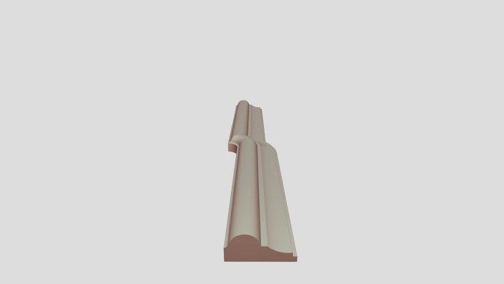NO-014985_線板彎曲 3D Model