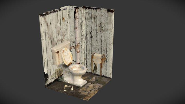 Toilet+Room 3D Model
