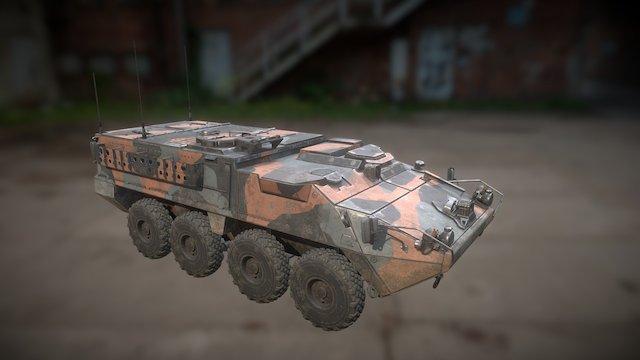 Stryker_m1126 3D Model