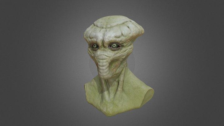 Alien Series I 3D Model