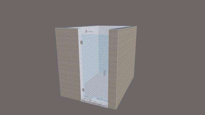 Single Door 3D Model 3D Model