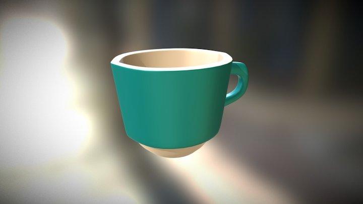 Pouring Mug 3D Model