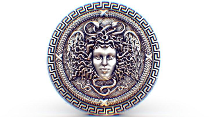 Medusa Gorgona and Perseus 3D Model