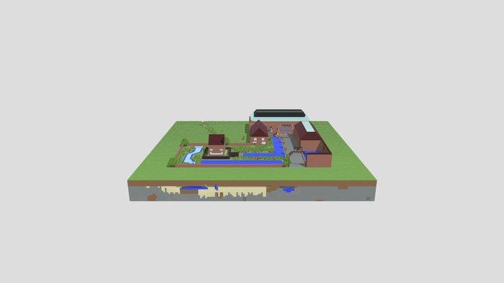 La Fonderie Aout 2021 - 3 Obj 3D Model