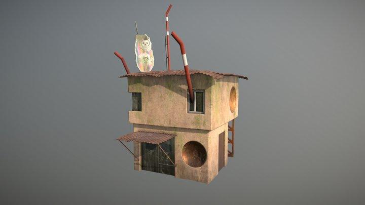 Astronomen building 3D Model