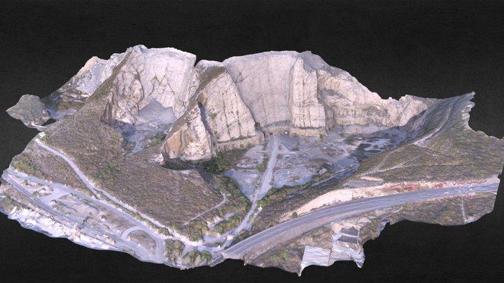 Cantera Mitras CEMEX. Monterrey. 3D Model