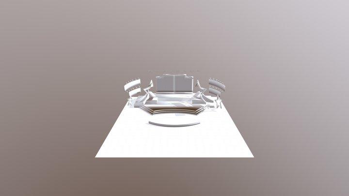 Ngoi Sao Xanh 3D Model