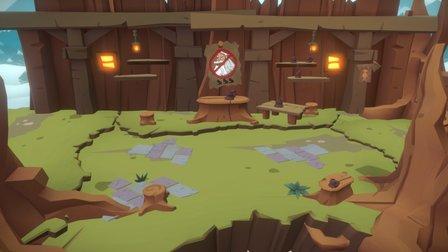 Evercraft Level Design - Dead Spell Pass 1 3D Model