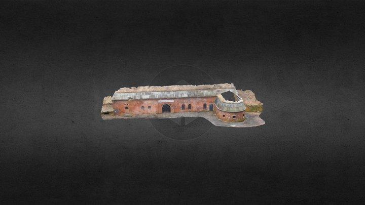 Fort Va Poznań - facade 3D Model