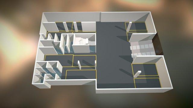 Estacionamiento 3D Model