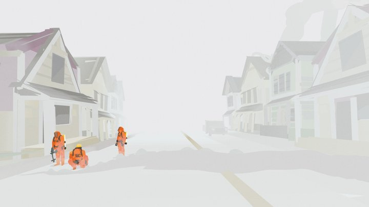 Quill - Quarantine 3D Model