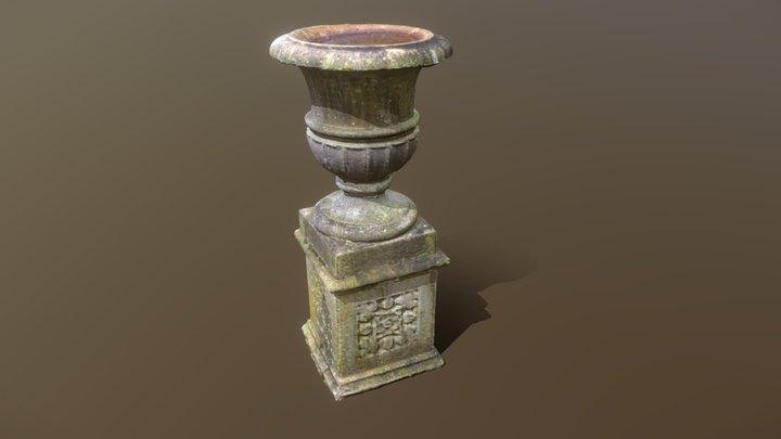 Garden urn photogrammetry test 3D Model