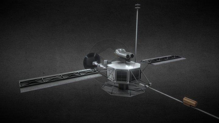 NASA Mariner 10 3D Model