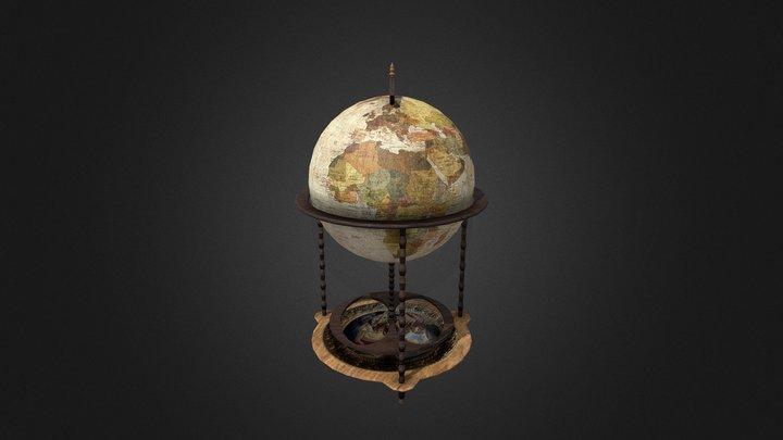 Earth Mini-bar 3D Model