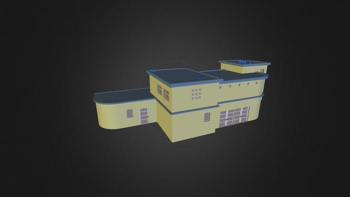 villa-3 3D Model