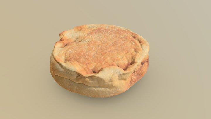 English Muffin 3D Model