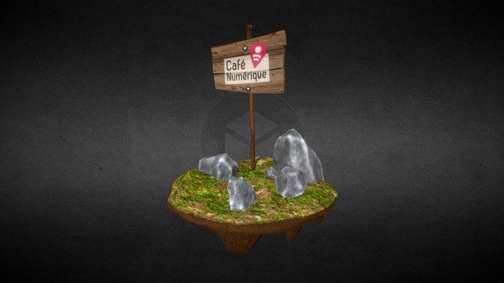 Bonjour CafeNLLN 3D Model