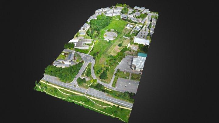 Campus Terra, Lugo - USC - 3D Model