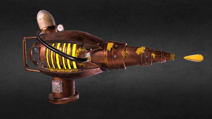 Glue Cannon 3D Model