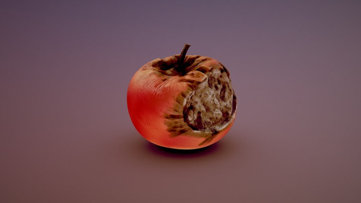 Rotten Apple and companion - Day 04 3D Model