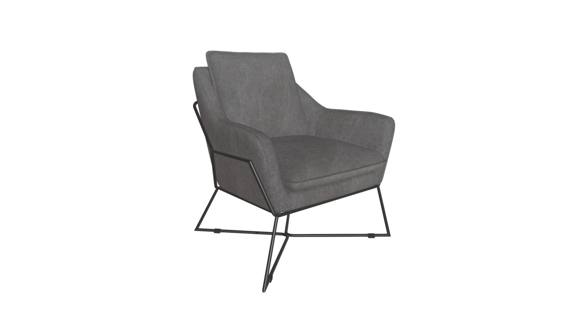 Lincoln Lounge Chair Gray 100727 Download Free 3d