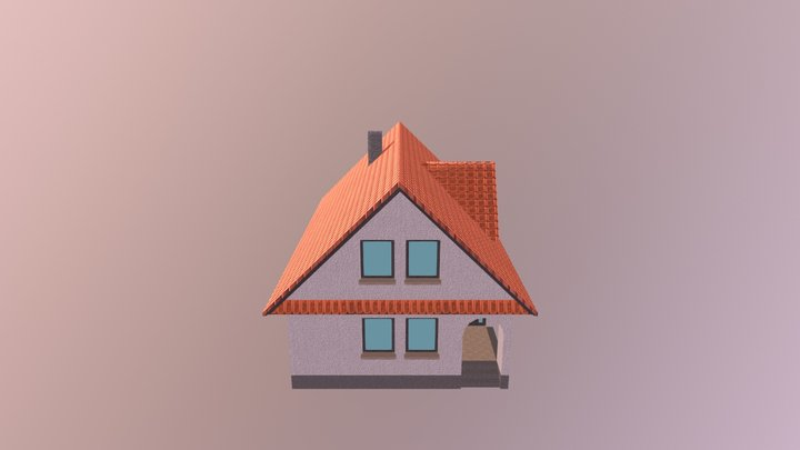 House (low poly) 3D Model