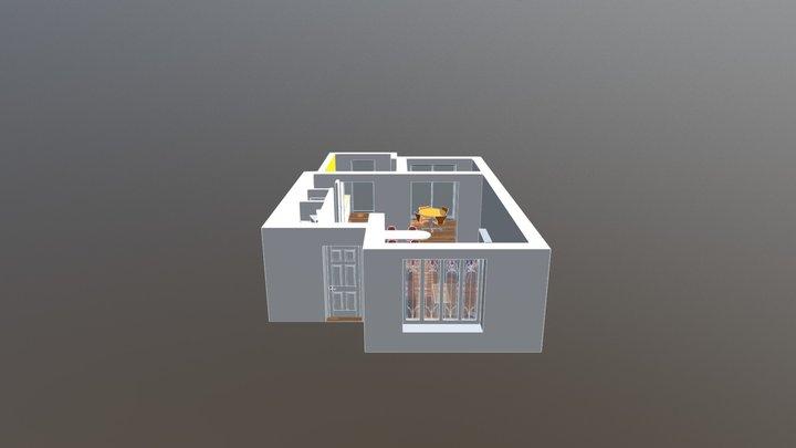 OK_Interieur 3D Model